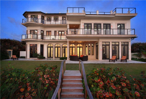 $19.5 Million Stylish Ocean-to-Intracoastal Mansion in Florida