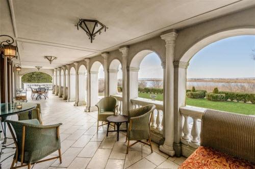 $19.9 Million Gated Mediterranean Mansion in Bridgehampton New York 10