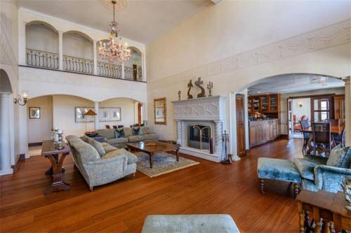 $19.9 Million Gated Mediterranean Mansion in Bridgehampton New York 4