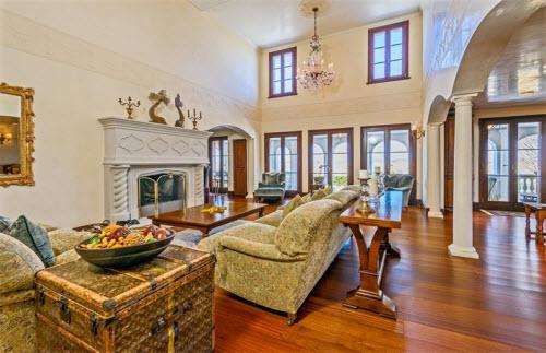 $19.9 Million Gated Mediterranean Mansion in Bridgehampton New York 5