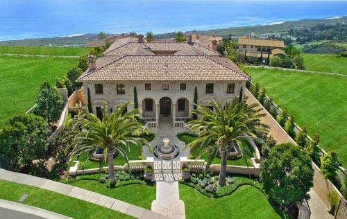 $22.8 Million Ocean View Mansion in California