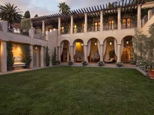$57.7 Million Grand Mansion in Santa Barbara California