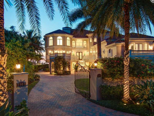 $8.9 Million Villa de Napoli Estate in Florida