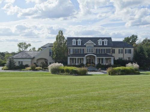 $9.9 Million Traditional Estate in Lambertville New Jersey