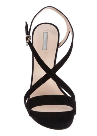 Armani Grommet Wedge Sandal 3