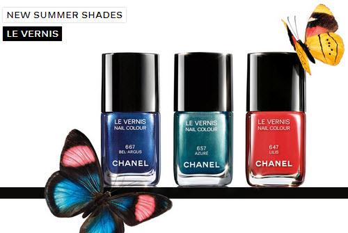 Chanel Summer 2013 Nail Polish