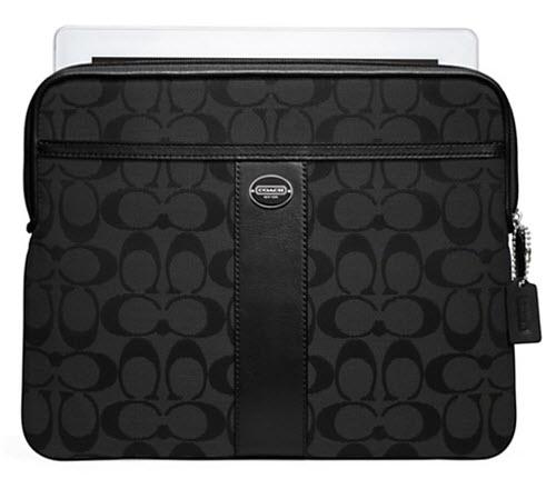 Coach Signature iPad Sleeve 2