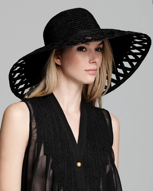 Eric Javits Maribel Cutout Sun Hat