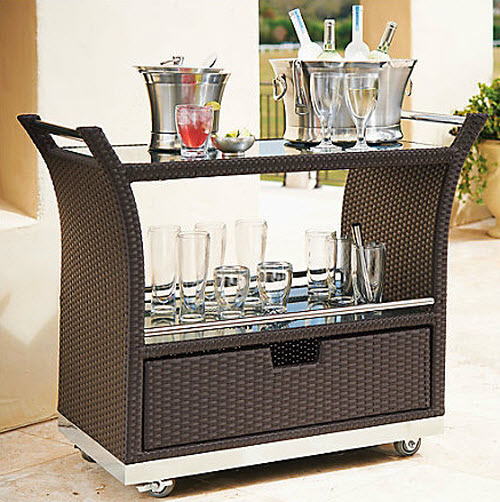 Frontgate Ultimate Serving Cart 2