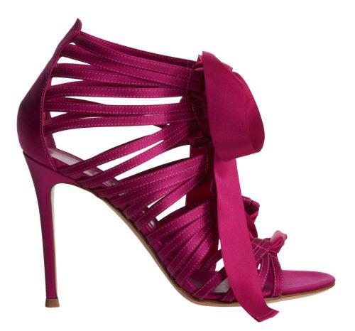 Gianvito Rossi Lace-Up Ribbon Sandal 2