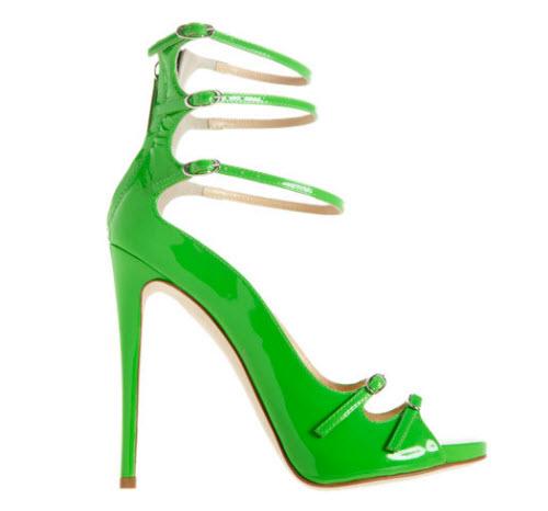 Giuseppe Zanotti Strappy Back Zip Sandal 3
