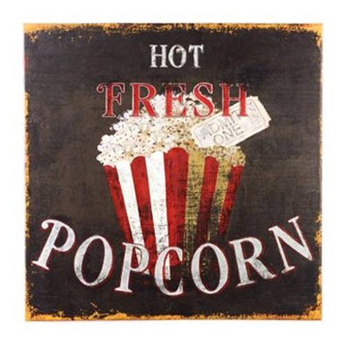 Hot Popcorn Canvas Print