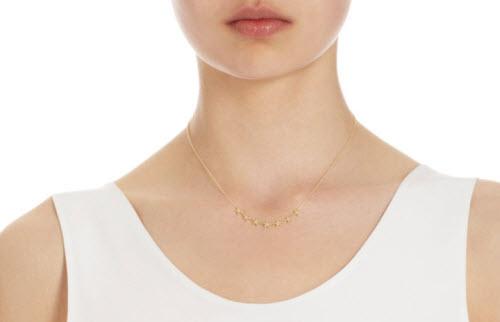 Jennifer Meyer Diamond Lucky Seven Mini Star Necklace 2