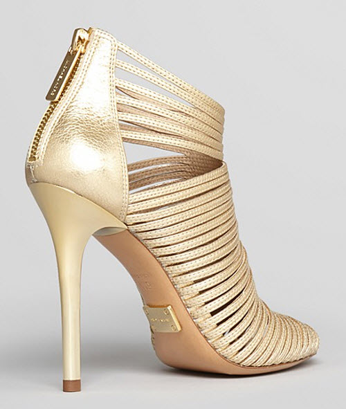 Michael Kors Maxi Strappy High Heel Sandals 2