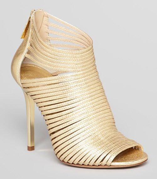 Michael Kors Maxi Strappy High Heel Sandals