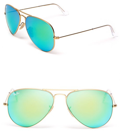 Ray-Ban Mirror Aviator Sunglasses 2