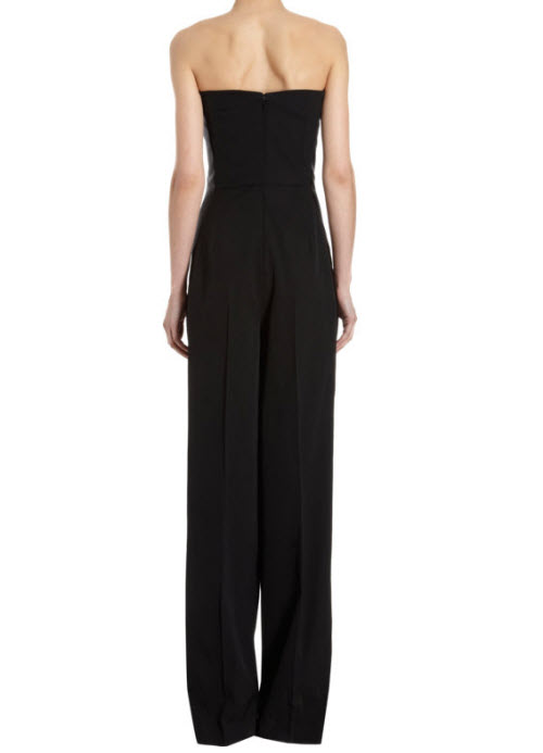Stella McCartney Satin Trimmed Jumpsuit 3