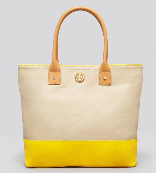 Tory Burch Pierson Dipped Canvas Jaden Tote