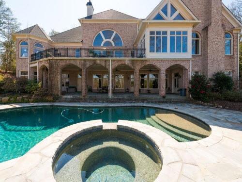 $3.7 Million Traditional Mansion in Atlanta Georgia 16