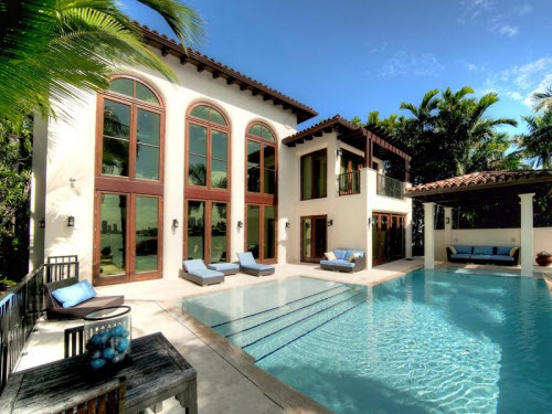 $8.2 Million Waterfront Mansion in Miami Beach Florida
