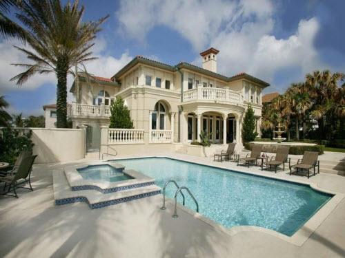 $8.4 Million Oceanfront Mediterranean Villa in Florida 9