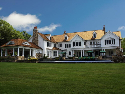 $9.75 Million Colonial with Green Technology in New Canaan Connecticut 12