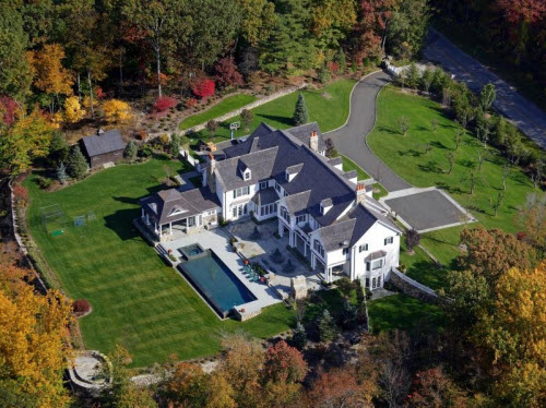 $9.75 Million Colonial with Green Technology in New Canaan Connecticut