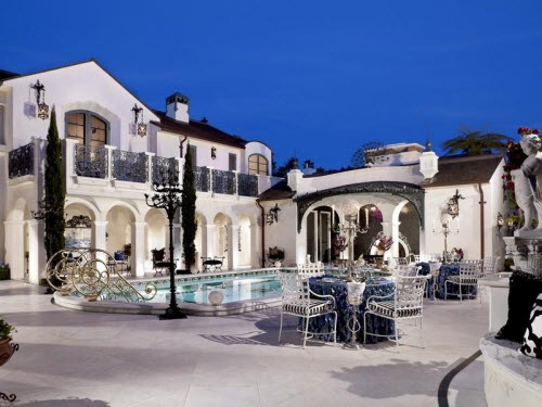 $9.8 Million Ornate Mansion in California