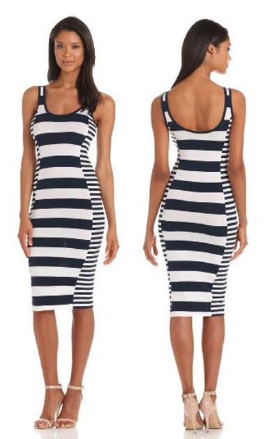 French Connection Women's Fun Stripe Dress 3