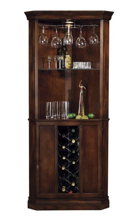 Howard Miller Piedmont 13-Bottle Wine Storage Bar