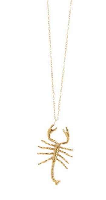 Jennifer Fisher Scorpion Necklace 2
