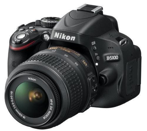 Nikon D5100 16.2MP CMOS Digital SLR Camera 2
