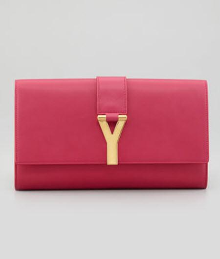 Saint Laurent Y Ligne Clutch Bag