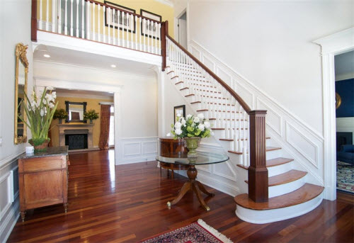 Estate of the day 2 4 million georgian colonial in for Georgian staircase design
