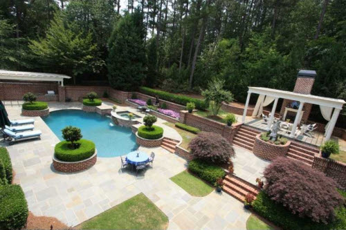 $2.9 Million Traditional Brick Estate in Georgia 2