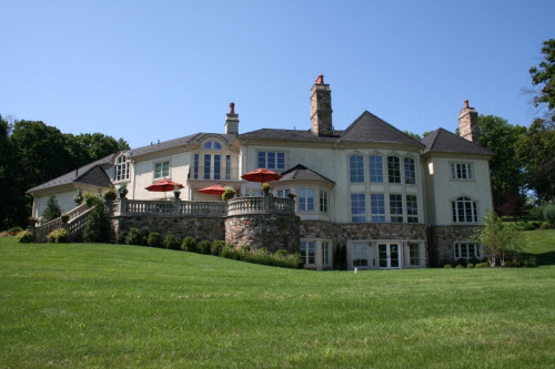 Estate Of The Day 4 5 Million Stone Manor Mansion In New