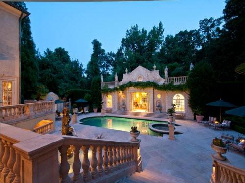 $4.9 Million Mediterranean Mansion in Atlanta Georgia 13
