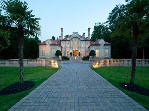 $4.9 Million Mediterranean Mansion in Atlanta Georgia