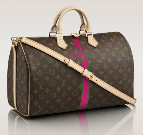 Add Your Monogram To A Louis Vuitton Bag 2