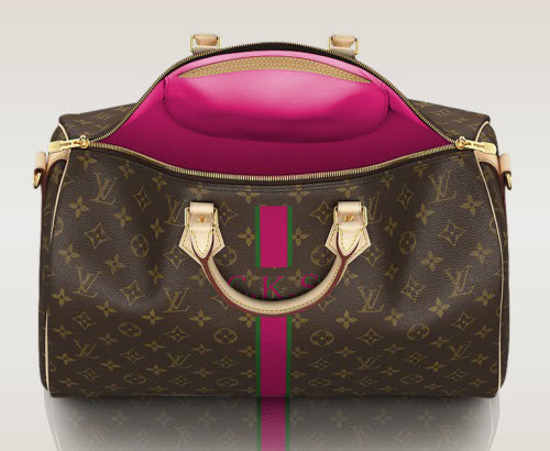 add your monogram to a louis vuitton bag