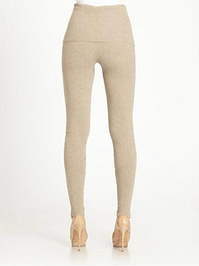 Akris Punto Wool & Cashmere Leggings 2
