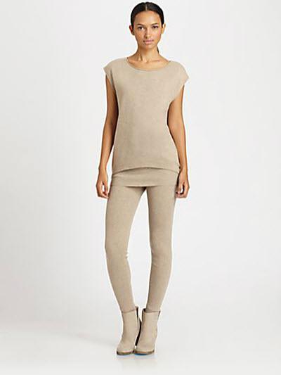 Akris Punto Wool & Cashmere Leggings 3