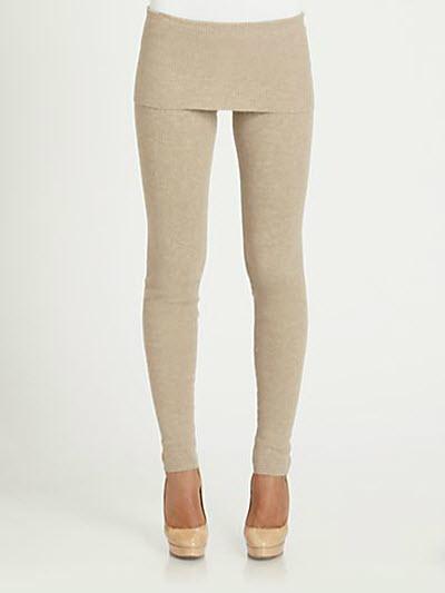 Akris Punto Wool & Cashmere Leggings