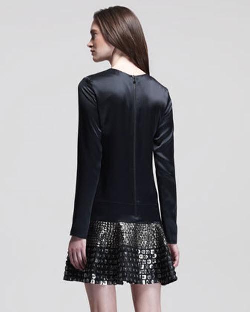 Belstaff Campden Drop-Waist Embellished Dress 3