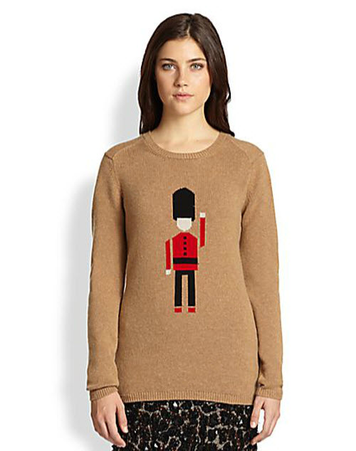 Burberry Prorsum Cashmere British Guard Sweater