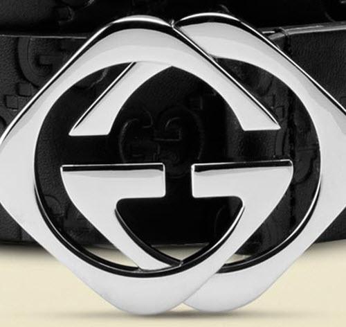 Gucci Belt with Interlocking G Buckle 3