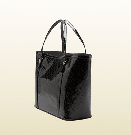 Gucci Nice Microguccissima Glossy Patent Leather Tote 4