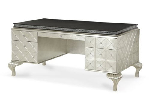 Hollywood Swank Cavier Desk From Aico Amini and Jane Seymour's Design Collection 3