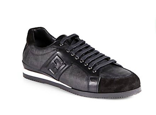 Men's Fendi FF Logo Sneakers 2