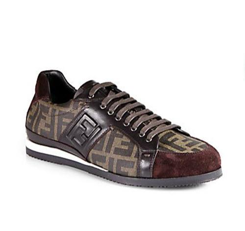 Men's Fendi FF Logo Sneakers